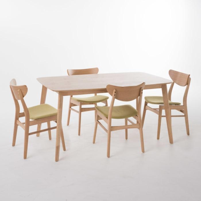 Tea Rectangular 5-Piece Dining Set