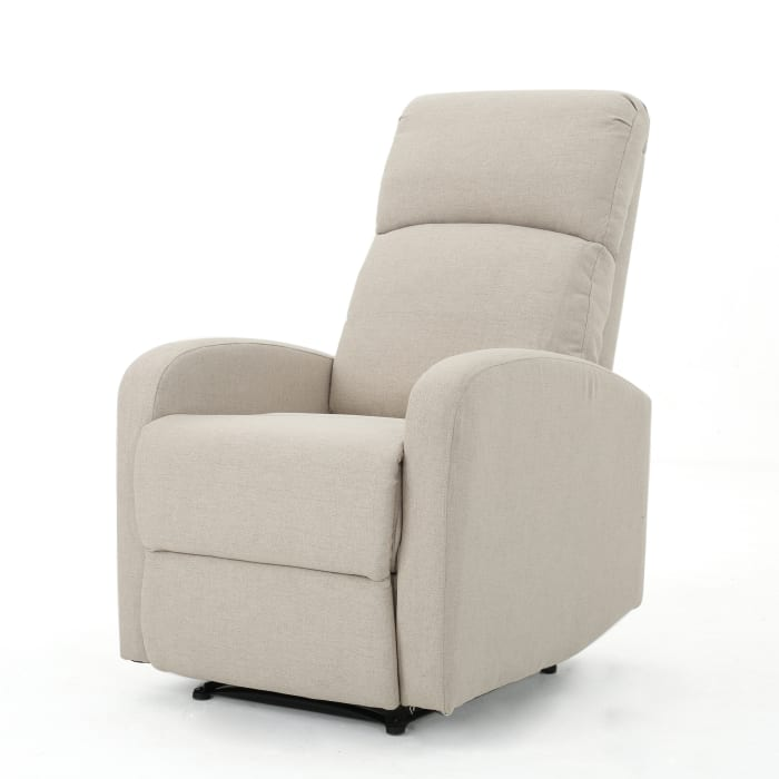 Classic Wheat Upholstered Recliner