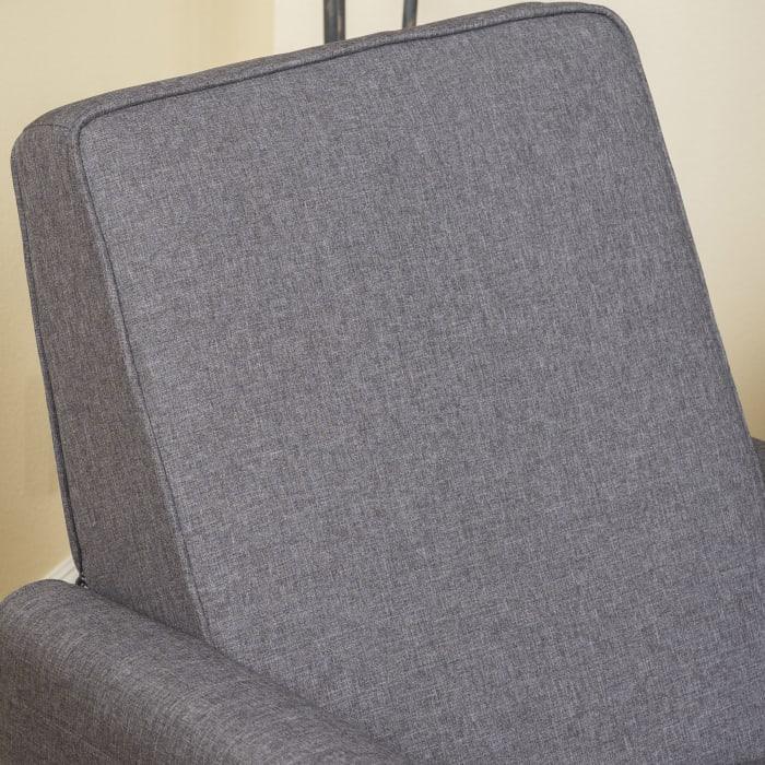 Smoke Upholstered Recliner