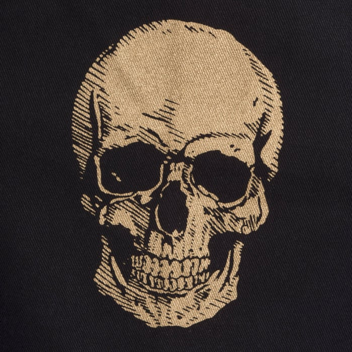 Spooky Skull Apron