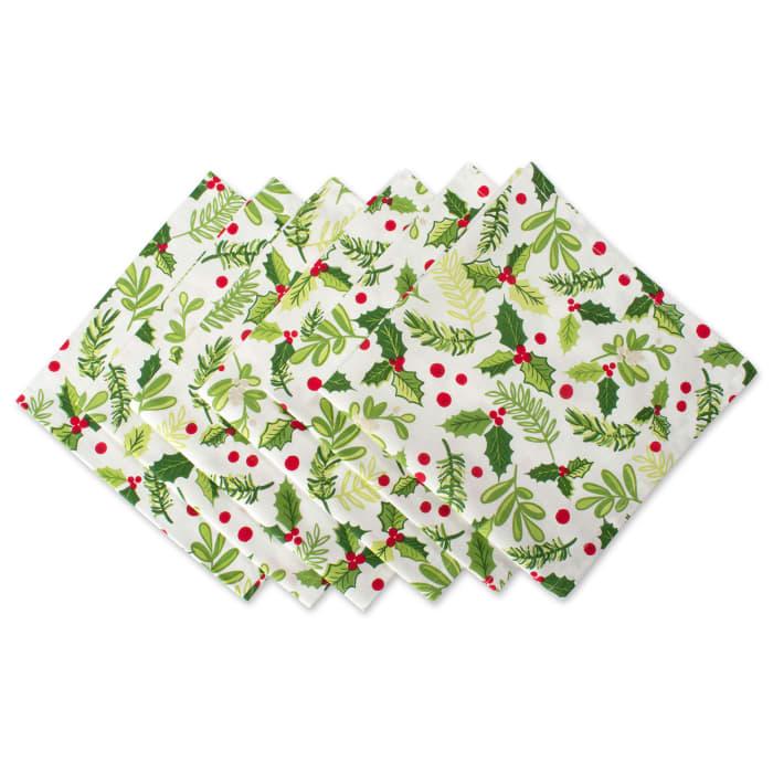 Holly Green Napkin Set