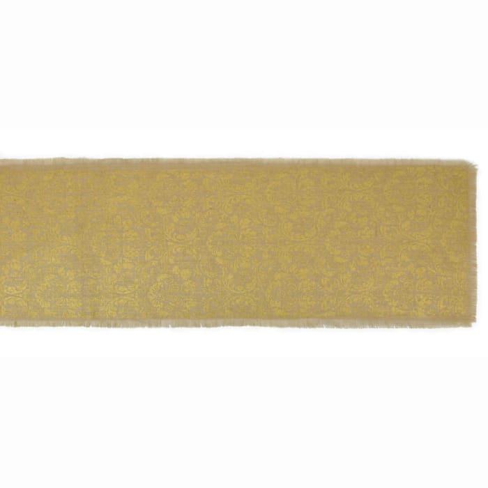 Gold Scroll Table Runner
