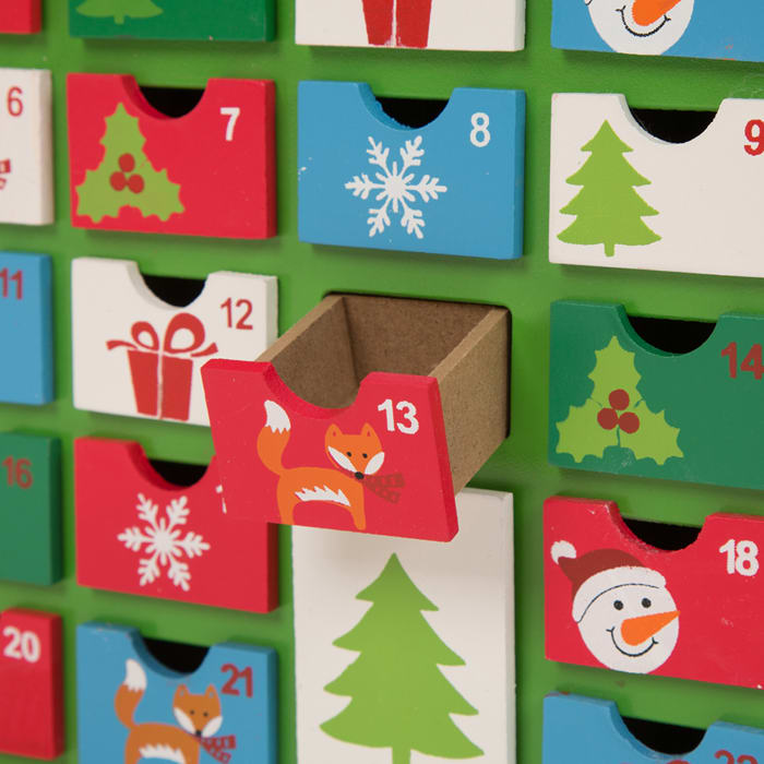 Wooden House Countdown to Christmas Advent Calendar