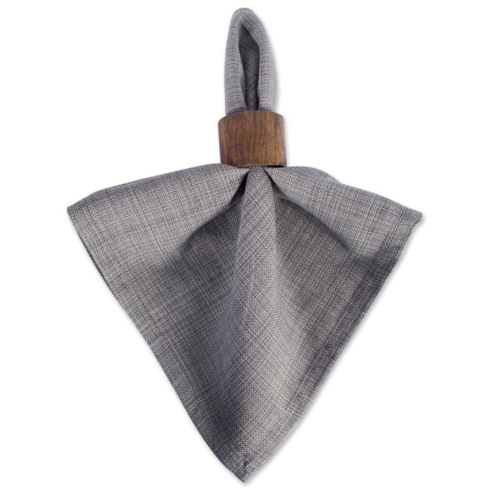 Gray Cotton Napkin Set
