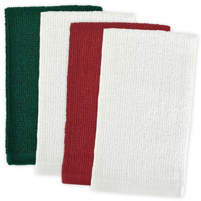Barmop Holiday Dish Towel Set of 4