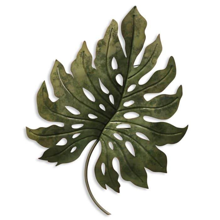 Metal Leaf Wall Decor