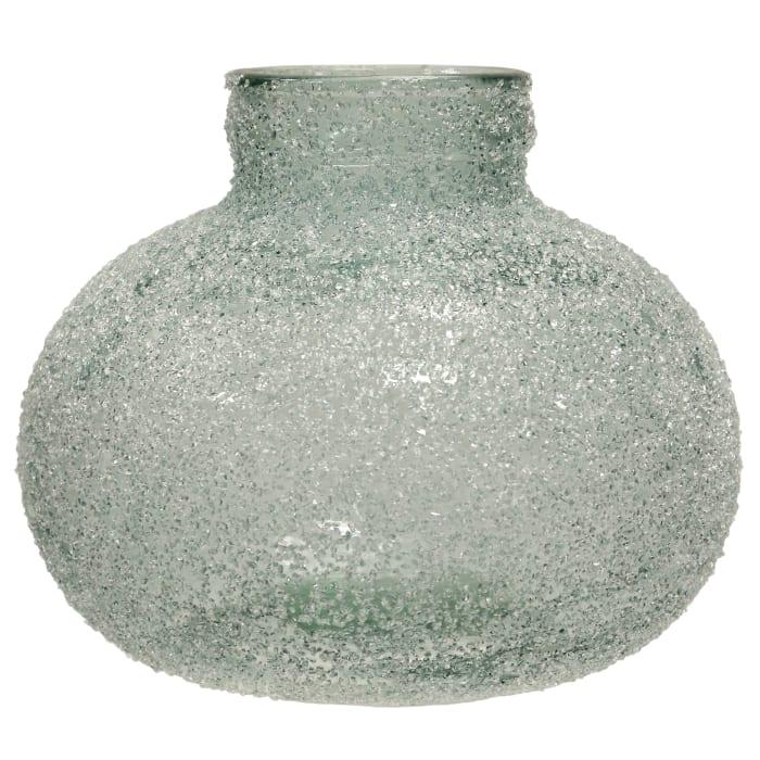 Crackled Blue Vase