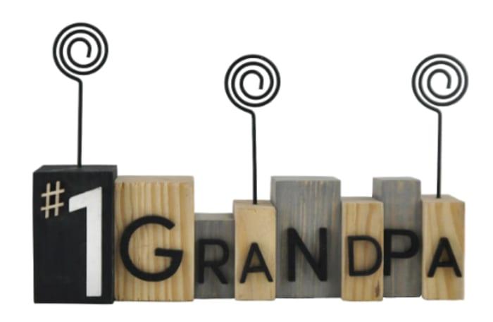 No.1 Grandpa Photo Frame Holder
