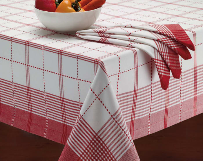 Red Country Plaid Check 120