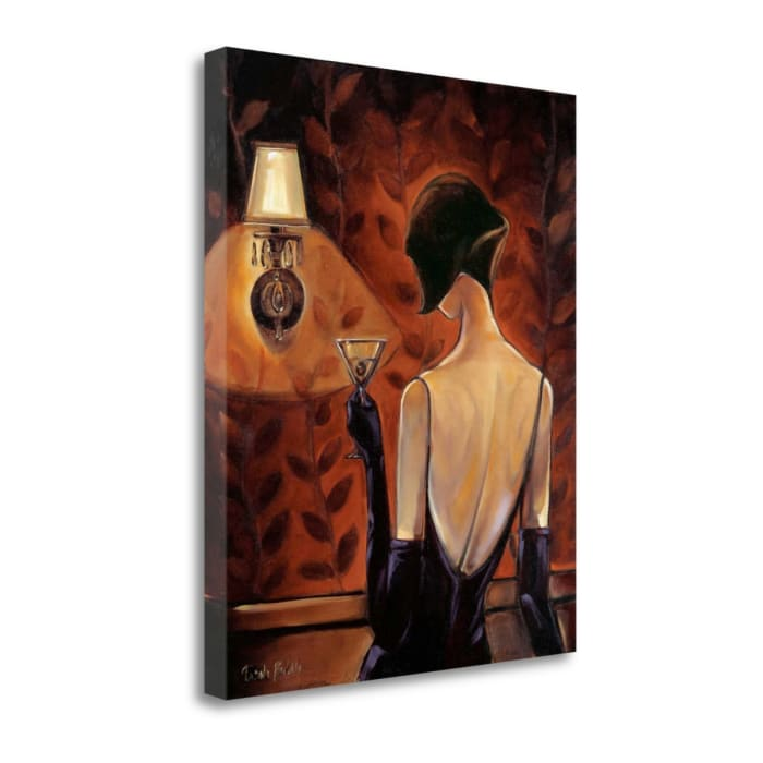 Fine Art Giclee Print on Gallery Wrap Canvas 19 In. x 23 In. Mademoiselle By Trish Biddle Multi Color