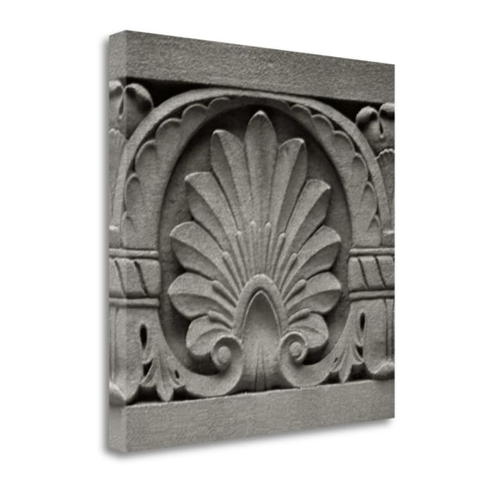 Fine Art Giclee Print on Gallery Wrap Canvas 22 In. x 22 In. Architectural Detail II By Jeff Multi Color