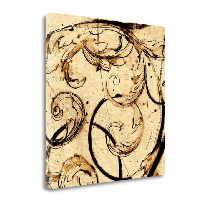 Giclee Print on Gallery Wrap Canvas 20 In. x 20 In. Classical Style - G By Paul Panossian , Multi Color