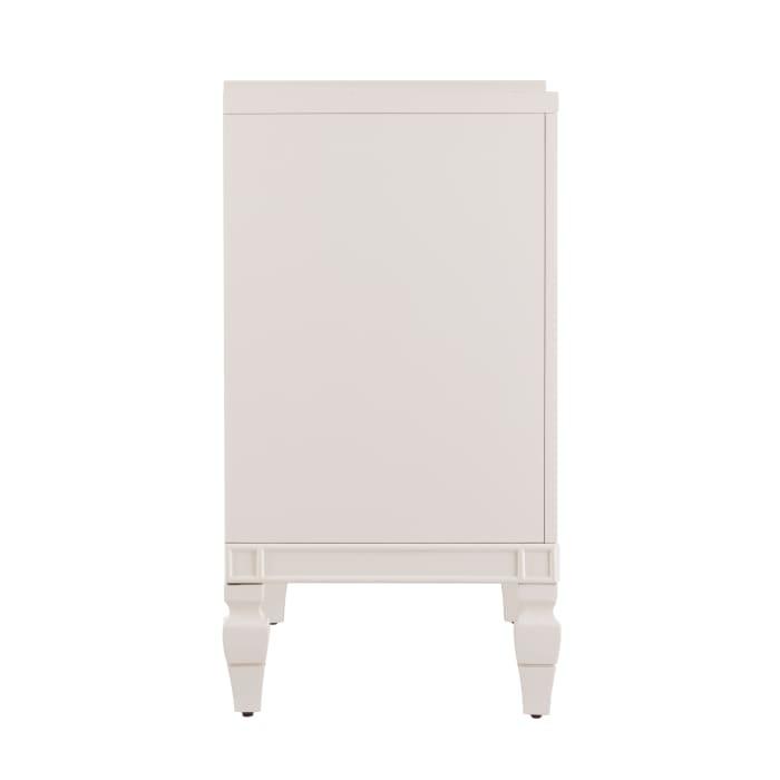 Atkeson Antique White Low-Profile Accent Cabinet