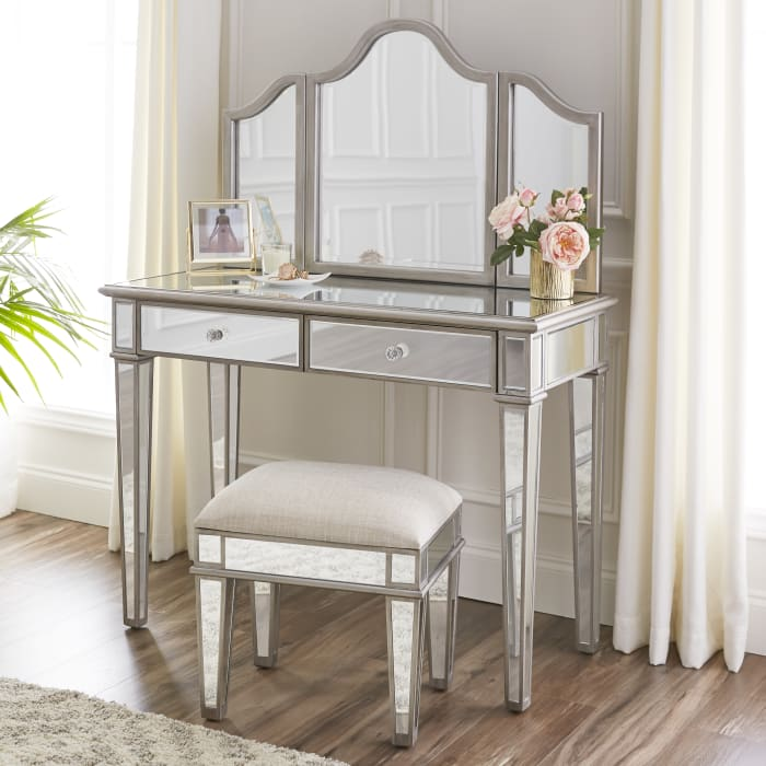 Rothbury Mirrored Vanity Set