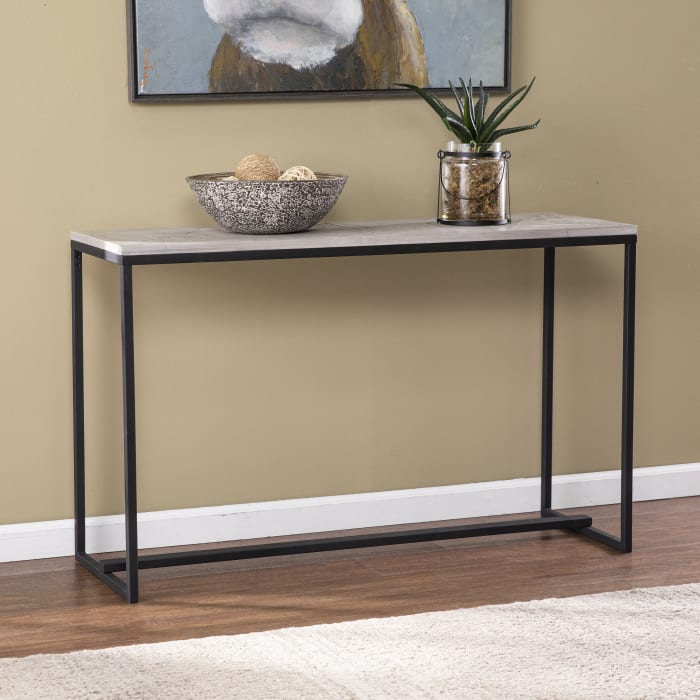 Albro Long Reclaimed Wood Console Table