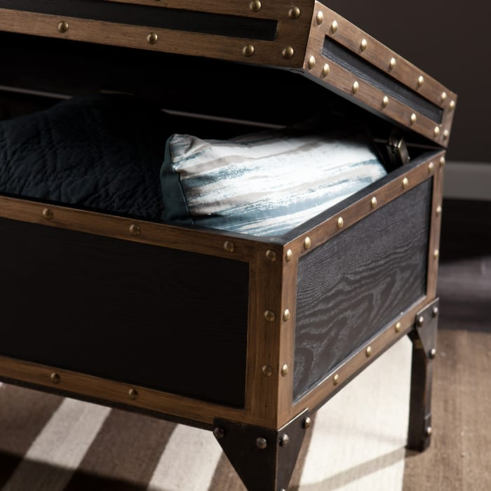 Rochford Travel Trunk Cocktail Table