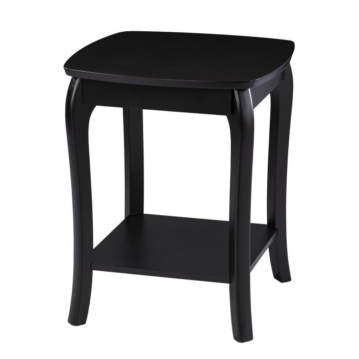 Shefford Square End Table - Black