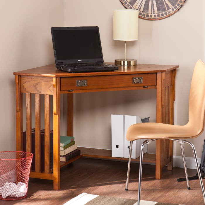 Mission Oak Jay Computer Desk
