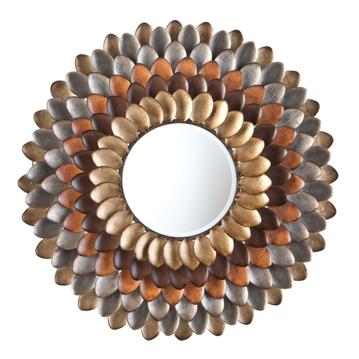 Worthing Round Decorative Mirror