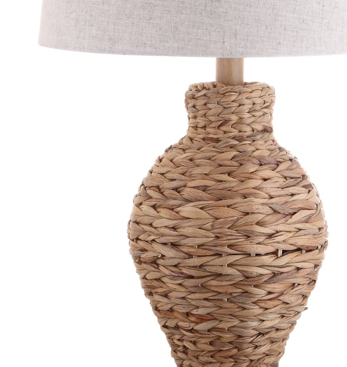 Natural Seagrass Table Lamp