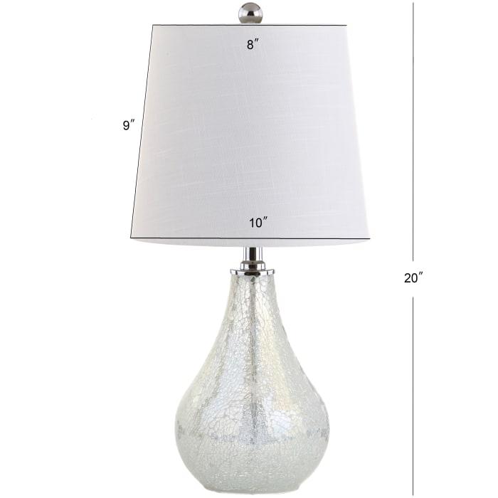 Mini Table Lamp, Mosaic White