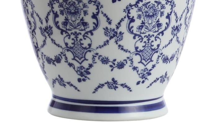 Chinoiserie Ceramic Table Lamp, Blue/White