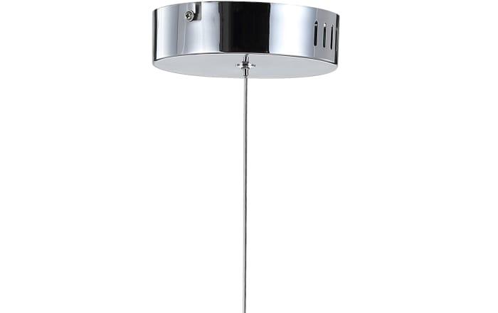 Adjustable Modern Integrated 1-Light Cluster LED Metal Pendant, Chrome