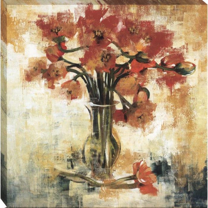 Symphony Of Poppies By Liz Jardine Wrapped Canvas Wall Art