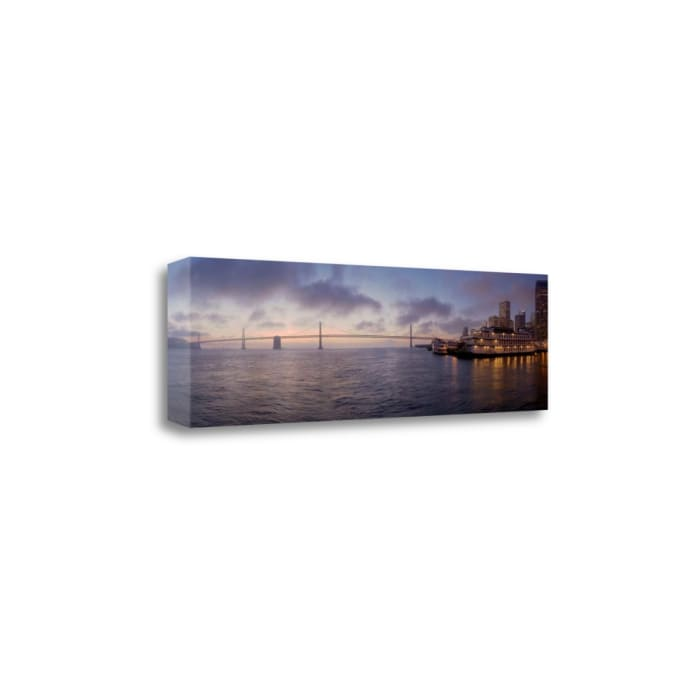 Bay Pano 119 By Alan Blaustein Wrapped Canvas Wall Art