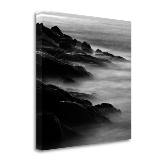 Rocks In Mist 1 By Photoinc Studio Wrapped Canvas Wall Art