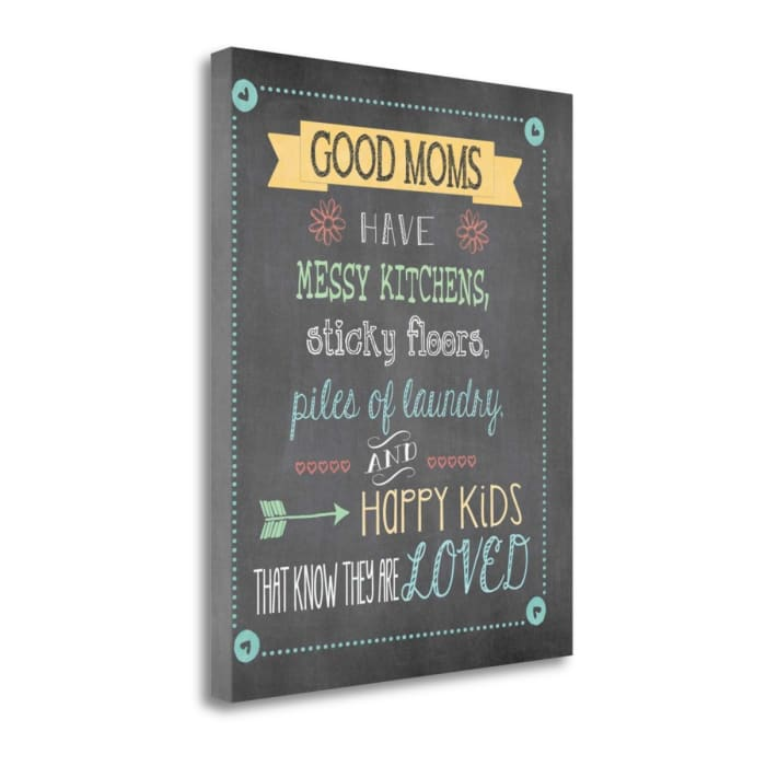 Good Moms By Jo Moulton Wrapped Canvas Wall Art