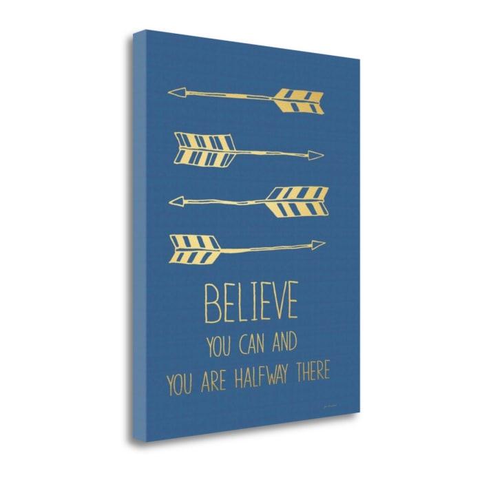 Believe By Jo Moulton Wrapped Canvas Wall Art