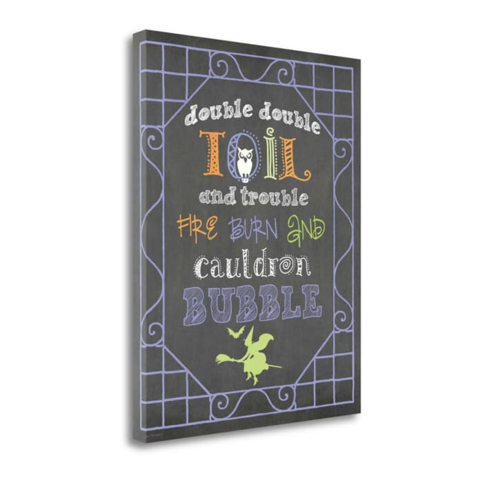 Toil And Trouble By Jo Moulton Wrapped Canvas Wall Art