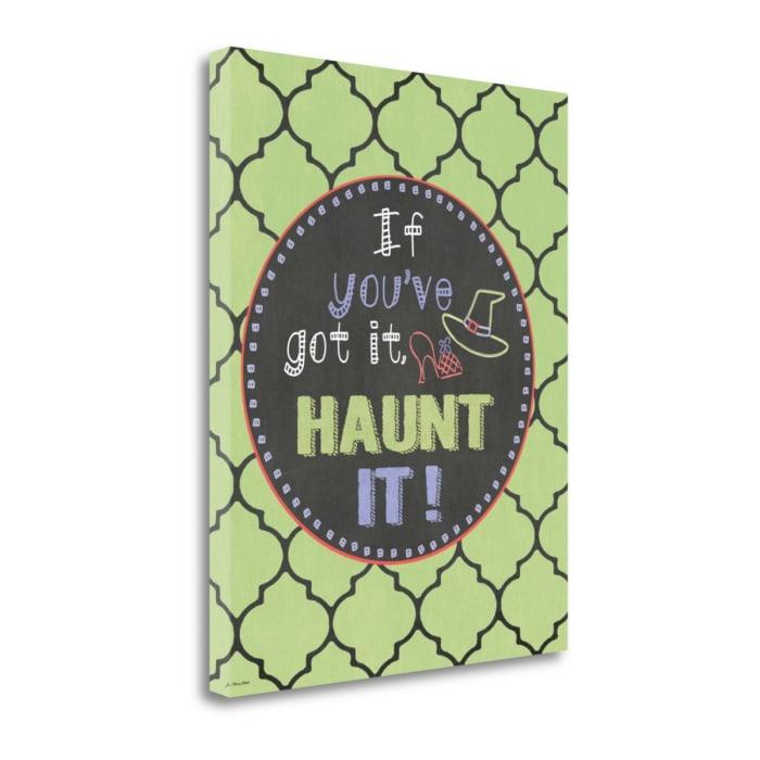 Haunt It! By Jo Moulton Wrapped Canvas Wall Art