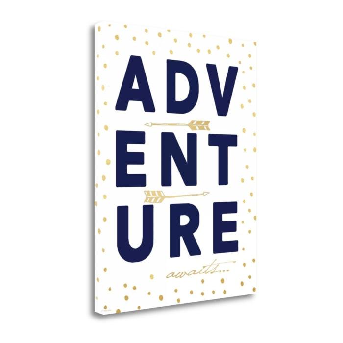 Adventure By Jo Moulton Wrapped Canvas Wall Art