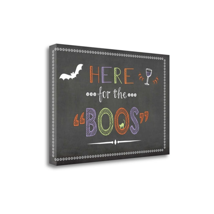 Boos By Jo MoultonWrapped Canvas Wall Art