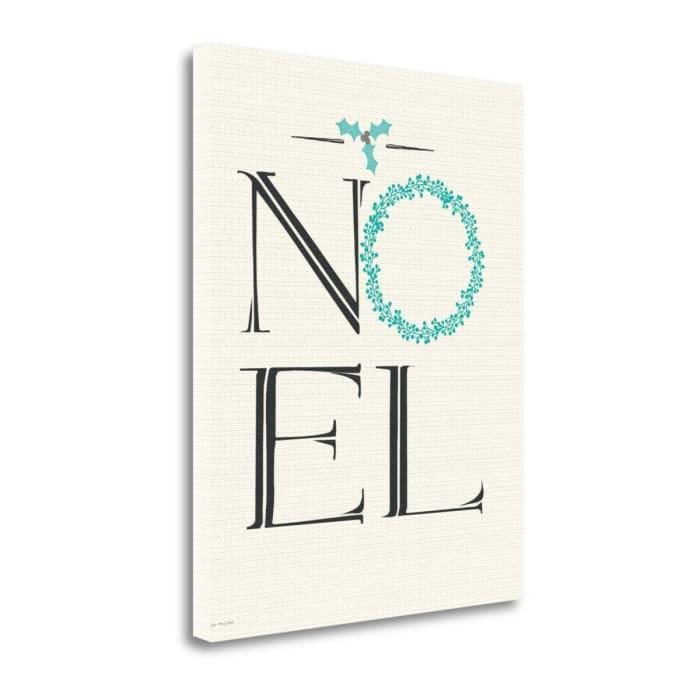 Noel By Jo Moulton Wrapped Canvas Wall Art