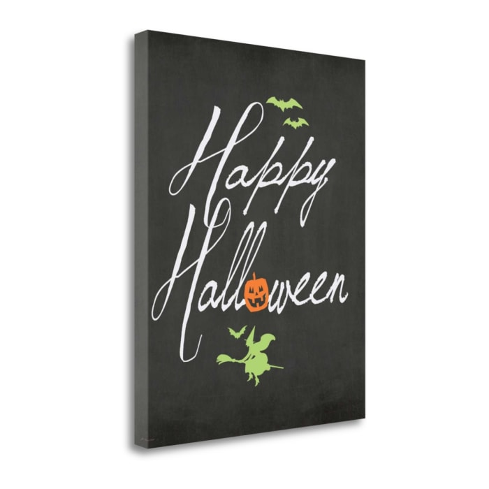 Happy Halloween By Jo Moulton Wrapped Canvas Wall Art