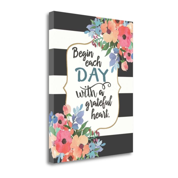 Each Day By Jo Moulton Wrapped Canvas Wall Art