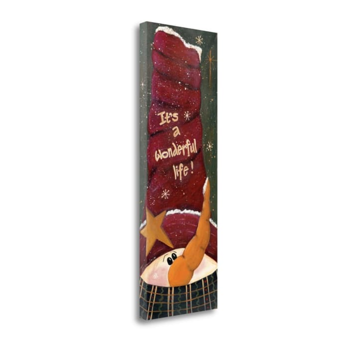 Wonderful Life By Jo Moulton Wrapped Canvas Wall Art