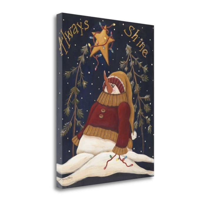 Always Shine By Jo Moulton Wrapped Canvas Wall Art
