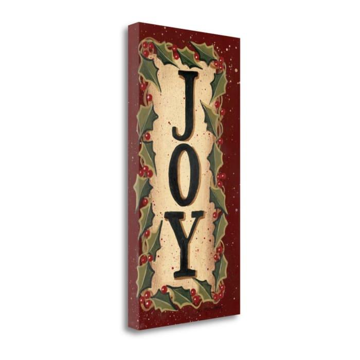 Joy By Jo Moulton Wrapped Canvas Wall Art