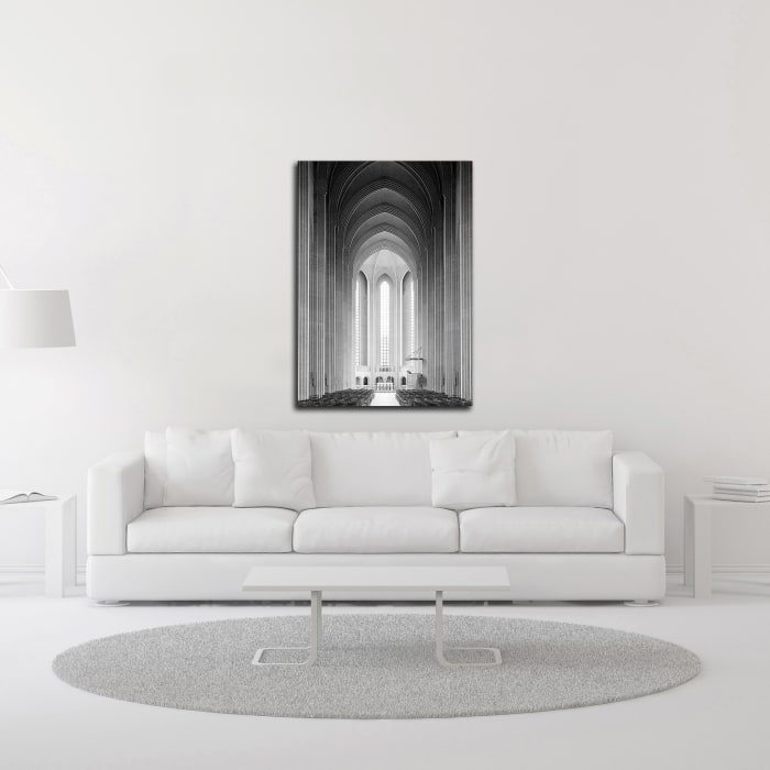 Architecture 4 by Design Fabrikken Wrapped Canvas Wall Art