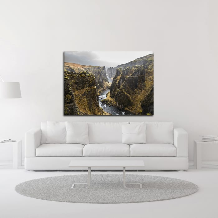 Bishop 8 by Design Fabrikken Wrapped Canvas Wall Art