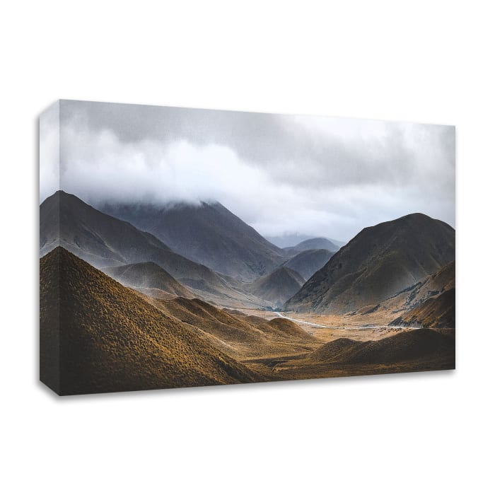 Bishop 9 by Design Fabrikken Wrapped Canvas Wall Art