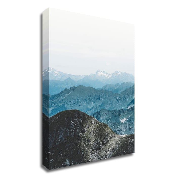 Bishop 15 by Design Fabrikken Wrapped Canvas Wall Art