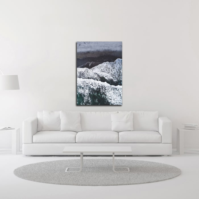 From Above 5 by Design Fabrikken Wrapped Canvas Wall Art