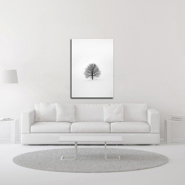 Solitary 1 by Design Fabrikken Wrapped Canvas Wall Art