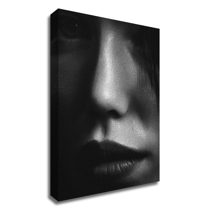 Face 2 by Design Fabrikken Wrapped Canvas Wall Art