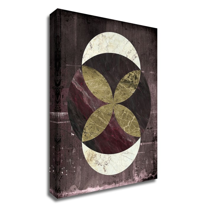 Marble Rustic 2 by Design Fabrikken Wrapped Canvas Wall Art